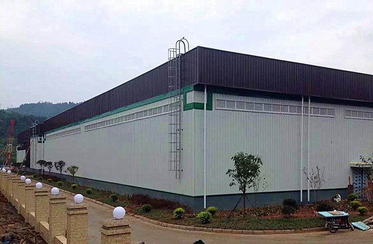 苍溪猕猴桃基地  钢结构厂房