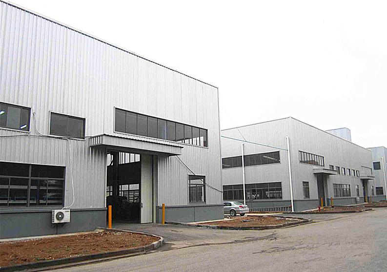 新财印务厂房  钢结构工程