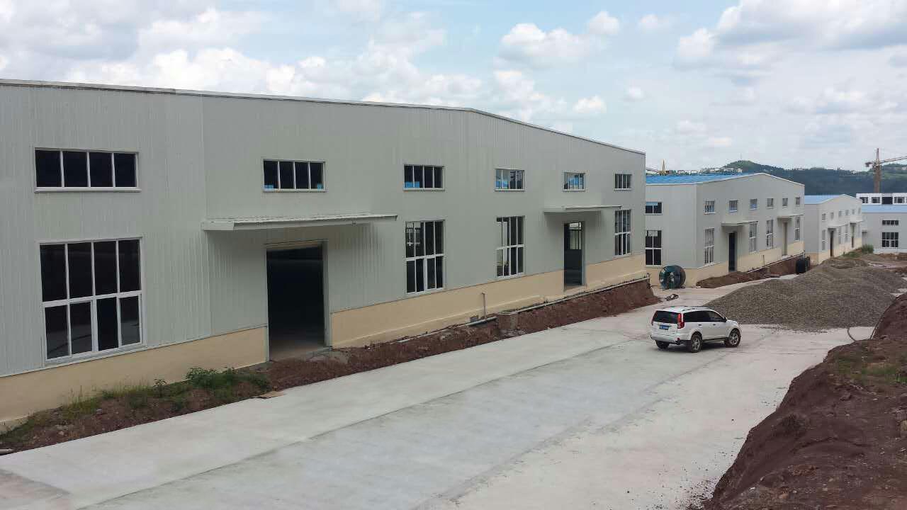 钢结构--仪陇国德塑业厂房完结工程