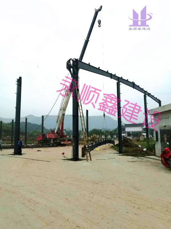 钢结构-泰森粮油项目