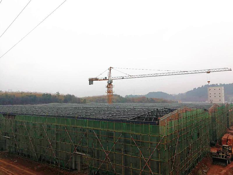 简阳军粮粮食调控应急储备库建设钢结构项目