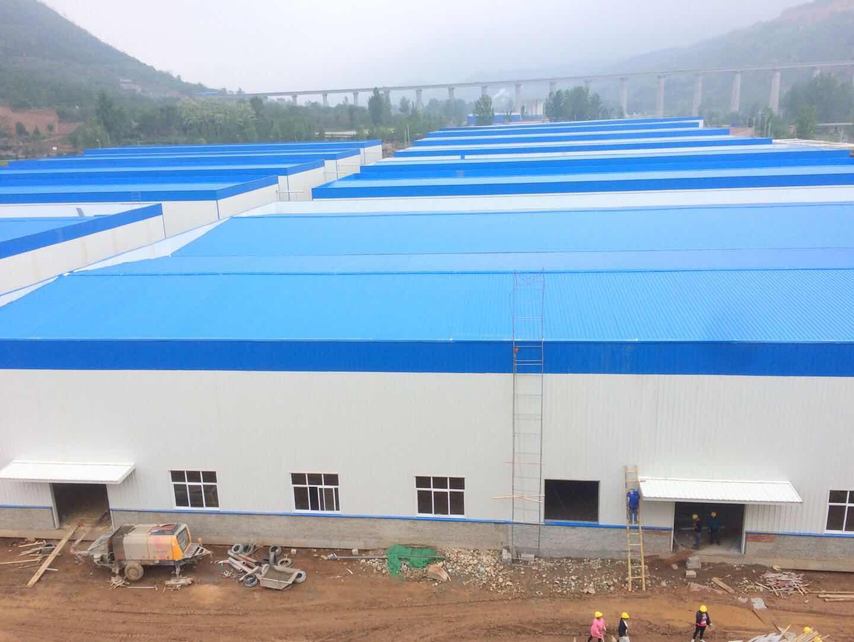 河南金海生物食用菌产业核心区17#楼料仓钢结构