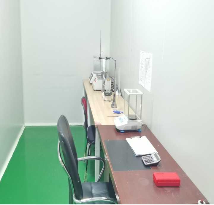 燕龙包装检测室