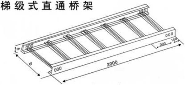 陕西梯级式桥架