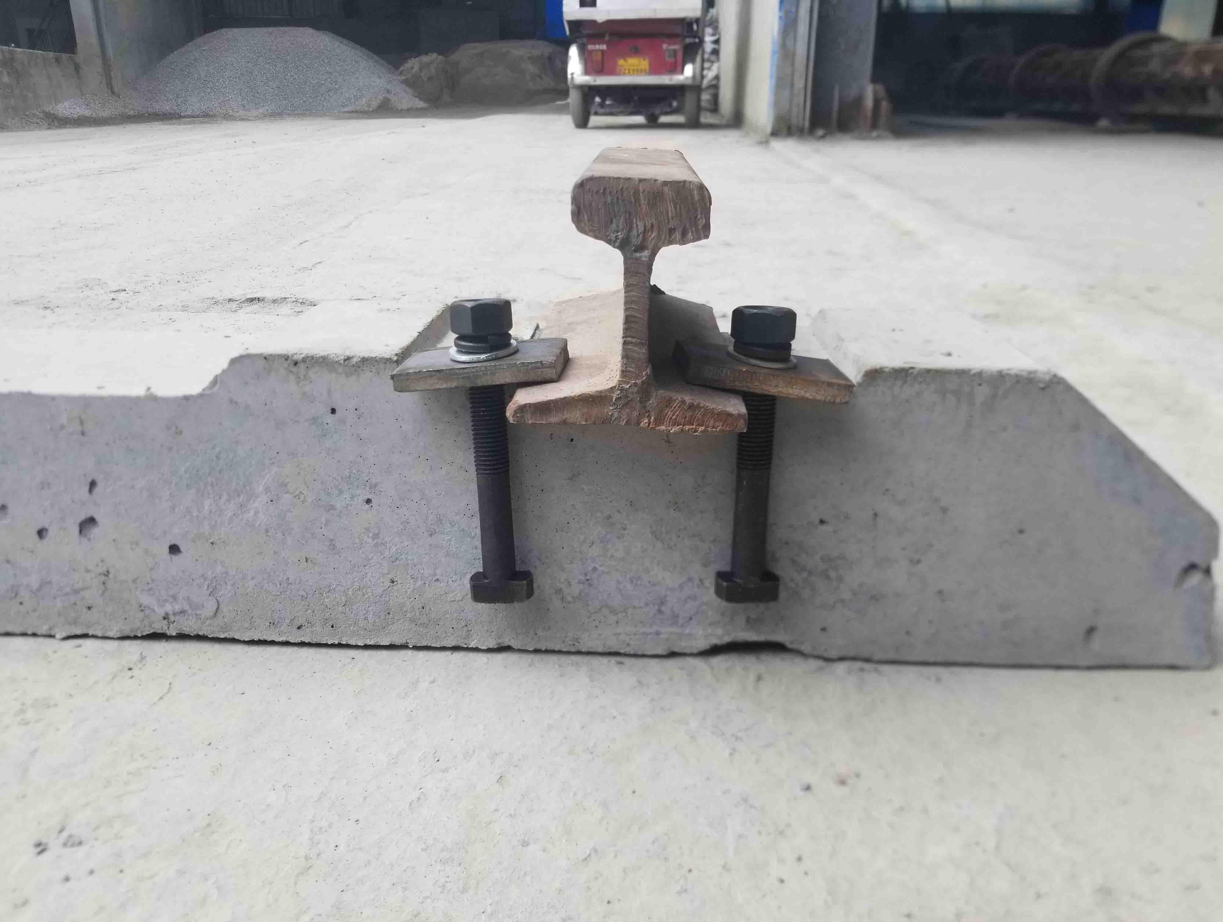 道钉固定水泥轨枕