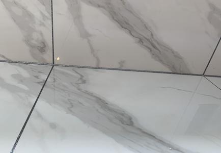 卫生间美缝颜色搭配珍珠白