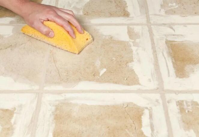 环氧彩砂美缝,清理残留是个大问题
