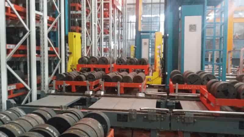 挤压模具自动化立体仓库