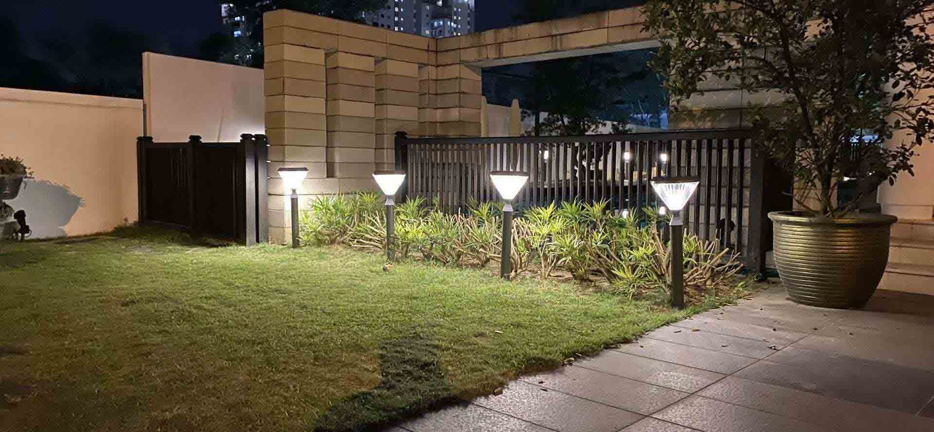 庭院灯的保护措施有哪些?雄妙墨菲告诉你