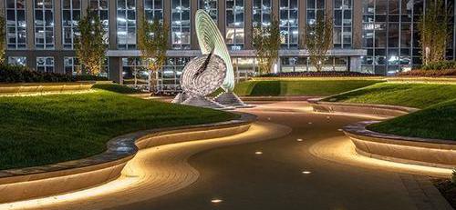 雄妙墨菲对于四川景观灯在城市中的作用介绍