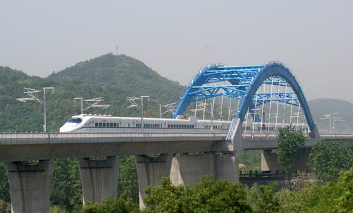 沪宁城际仙林特大桥项目