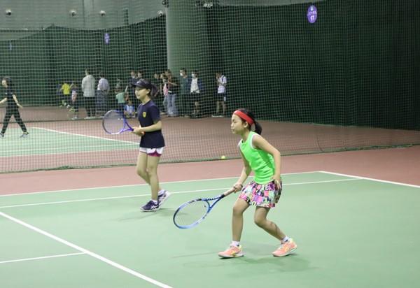 北京市体育传统项目学校网球比赛开赛