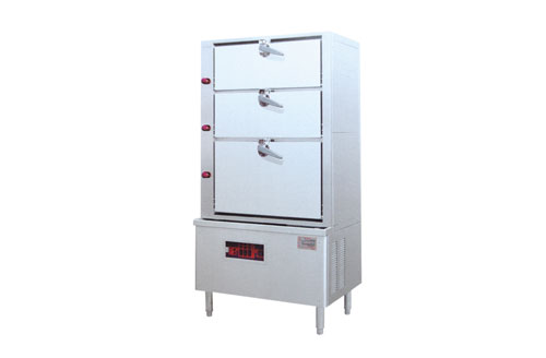 中式电热海鲜蒸柜