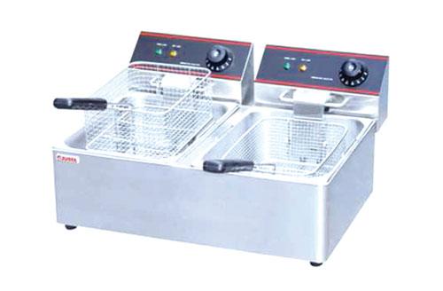 双缸双筛电炸炉
