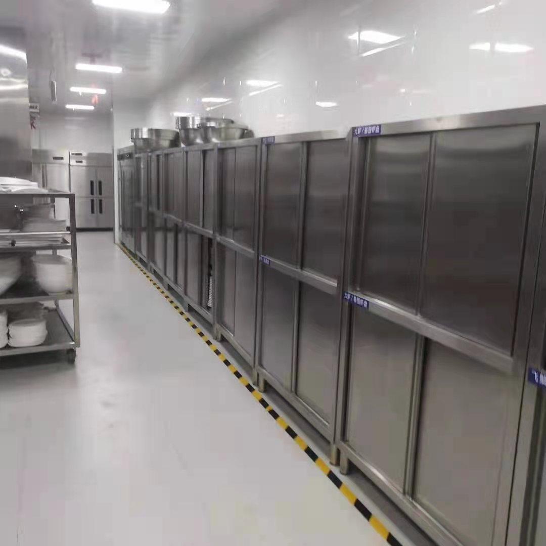 不锈钢储物柜安装合作案例