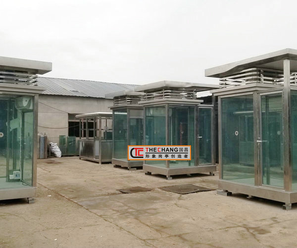 青海格尔木某部队4台防弹岗亭竣工(第 一批)