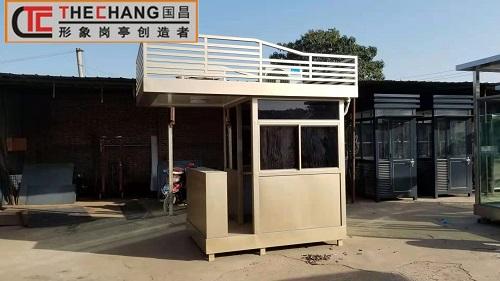 不锈钢与塑钢岗亭两种材质的区别