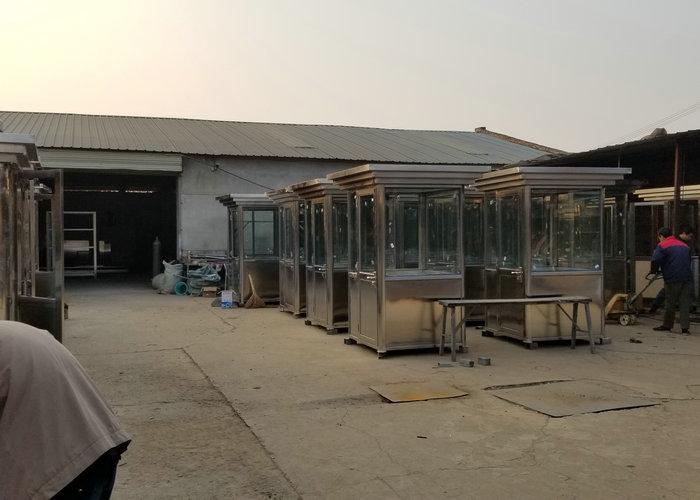 西安警用岗亭厂家厂房展示照片