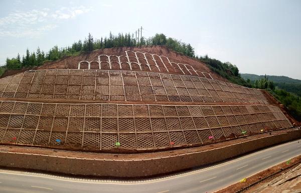 泾源县省道101卡子村地质灾害治理工程