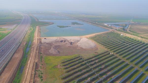 典农河石嘴山段汪家庄(水环境)生态湿地工程