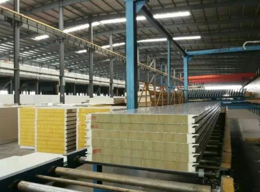 聚氨酯岩棉淨化板適用於各種冷庫以及淨化間的使用