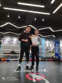天图拳击俱乐部会员风采