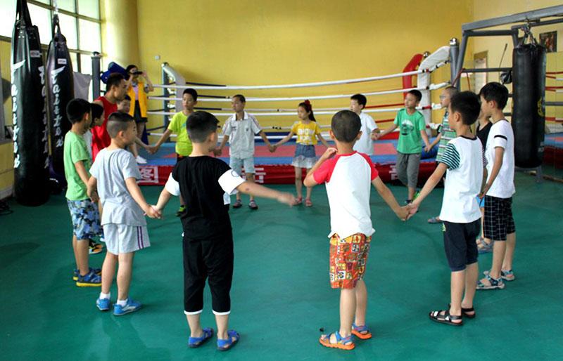 成都少儿拳击培训学校