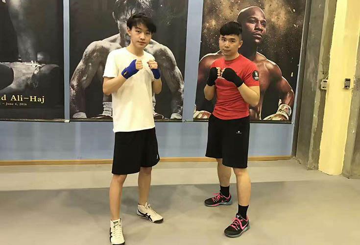 天图拳击培训客户感言