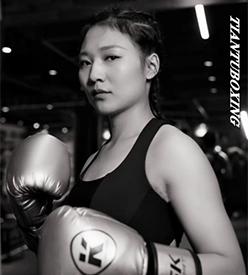 王丽-国家二级运动员 四川省队专业拳击运动员 天图拳击抚琴店教练