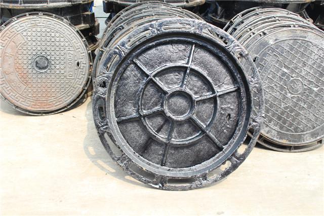 陕西球墨铸铁圆形井盖