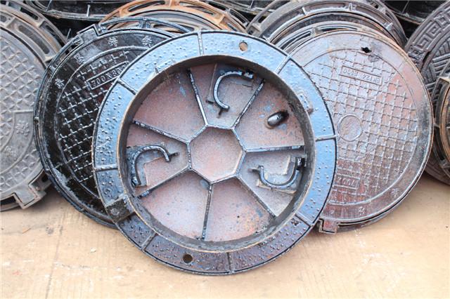 球墨铸铁井盖案例展示