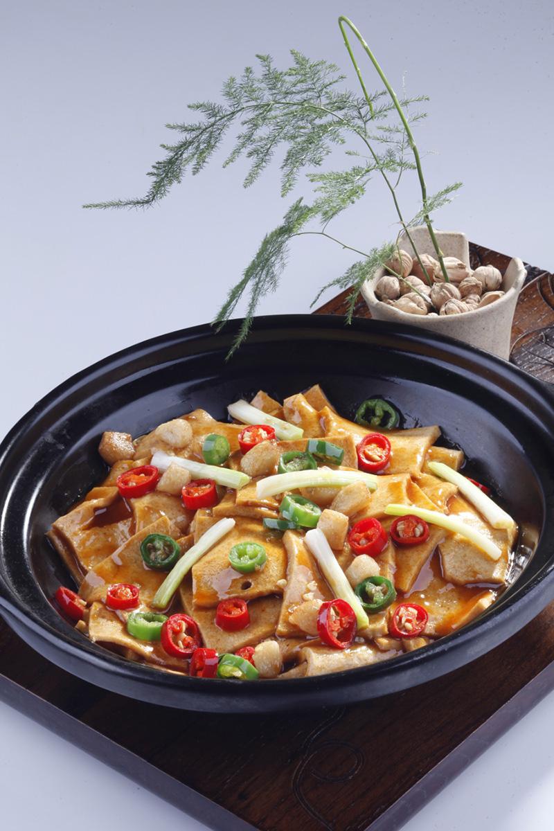 西安干锅千页豆腐
