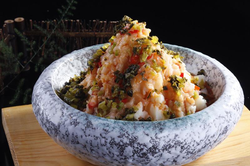 西安酸菜土豆泥