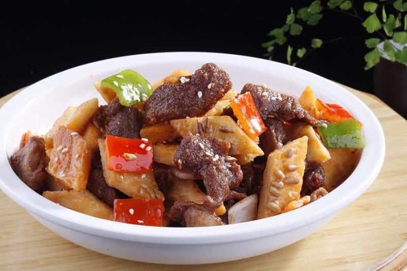 西安馕炒烤肉