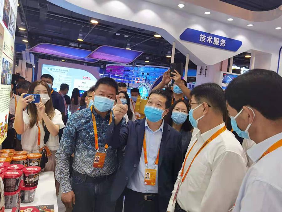 兰州东方宫牛肉拉面代表甘肃省餐饮行业参加中国国际服务贸易大会,兰州牛肉拉面亮相北京国家会议中心