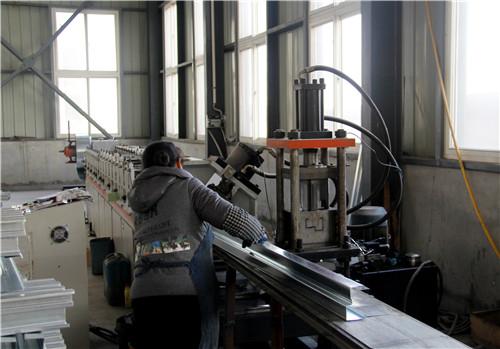 西安天安机电工程西安防火卷帘生产车间