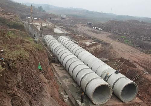 甘肃某市政交通建设项目排污管材构件供应