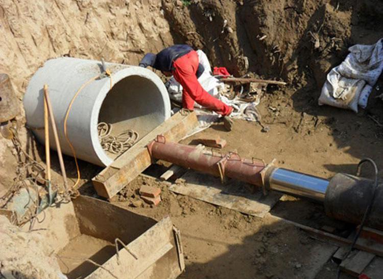 非开挖顶管施工泥水管沉淀堵塞处理工程