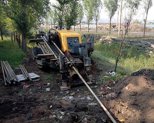 甘肃非开挖定向钻机顶管施工