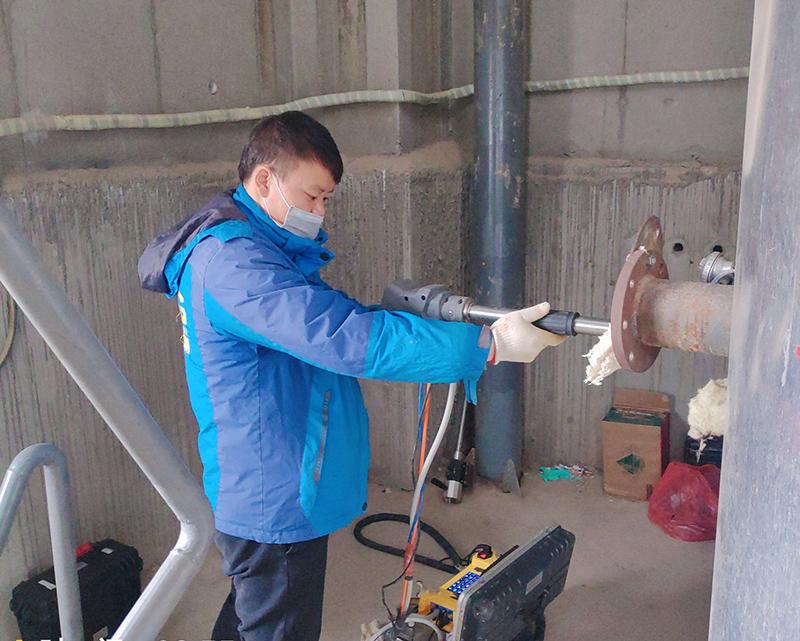 兰州丰泉环保电力有限公司锅炉检测