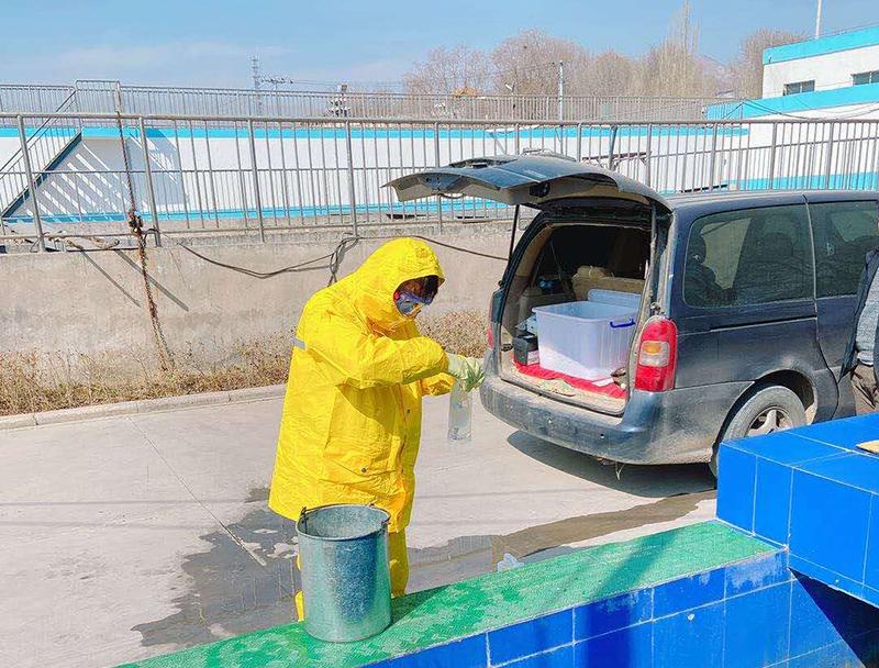 海石湾污水处理厂污水检测