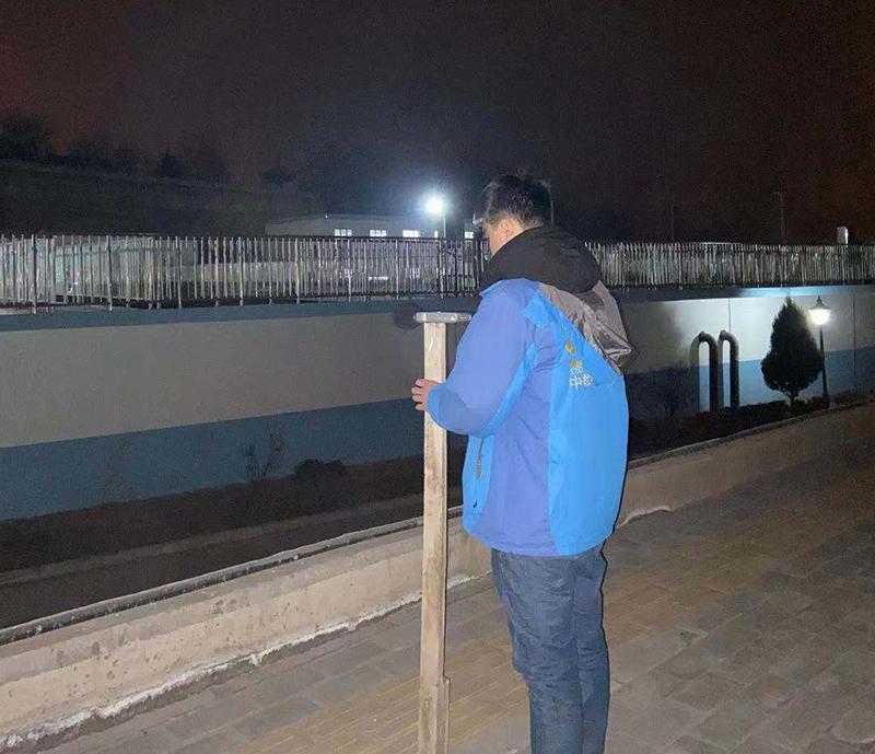 红古海石湾污水处理厂厂界噪声检测