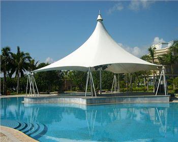绵阳游泳池膜结构