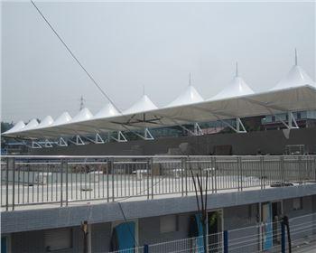 四川游泳池膜结构
