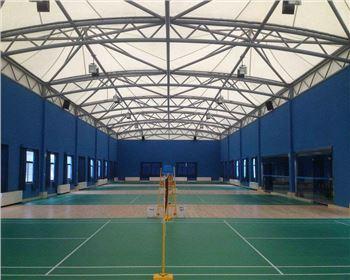 德阳羽毛球,网球场膜结构
