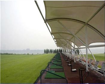 四川高尔夫打球台膜结构
