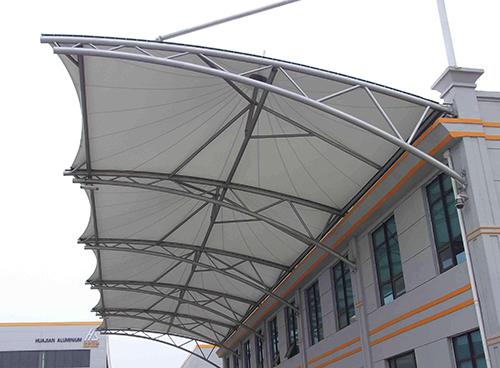 四川墙外挑膜结构