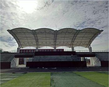 成都看台膜结构在体育场上的应用