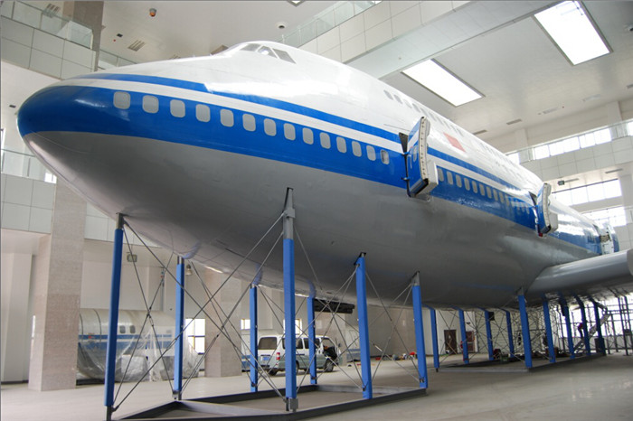 B747反劫机训练舱