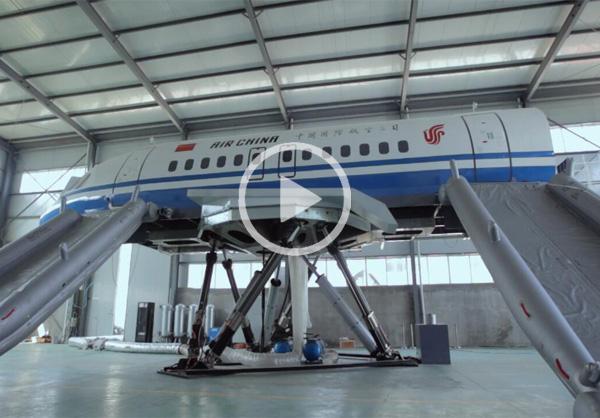 厂内A320动舱